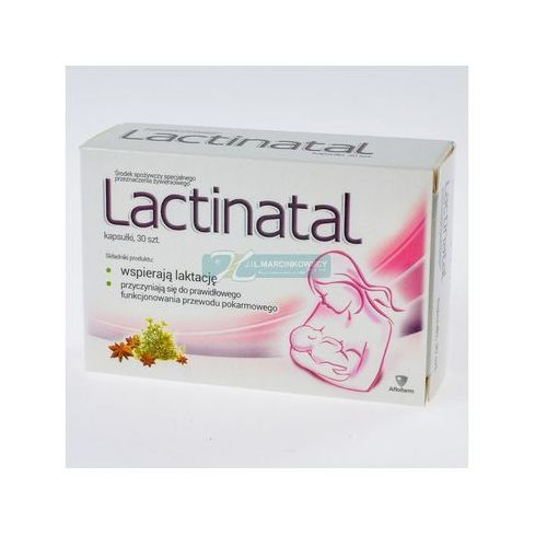 Lactinatal x 30 kaps - produkt farmaceutyczny