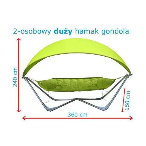 Produkt Hamak gondola ogrodowy - pistacjowy, marki TopGarden