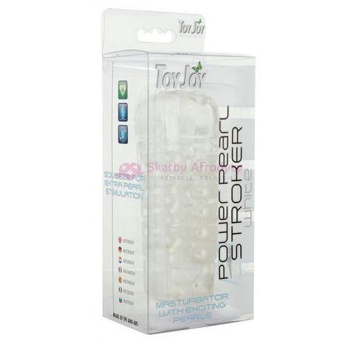 Masturbator Toy Joy Power Pearl Stroke White 9947 - oferta [1581e912260493eb]