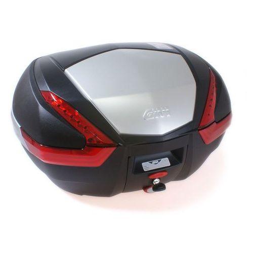 Kufer Givi V47N (czarny, 47 litrów, czerwone odblaski, pokrywa aluminiowa) - oferta [05abe50161f26434]