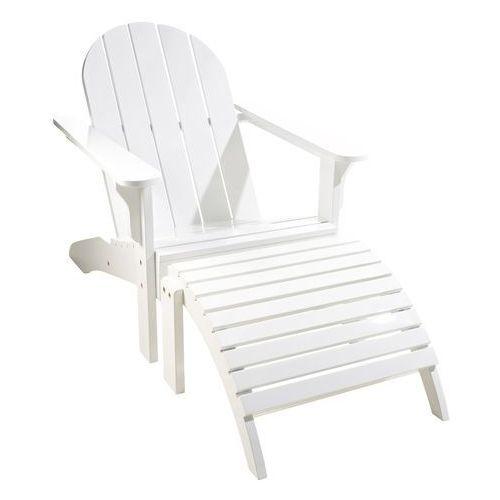 Leżak ogrodowy Cinas Adirondack biały - produkt dostępny w All4home