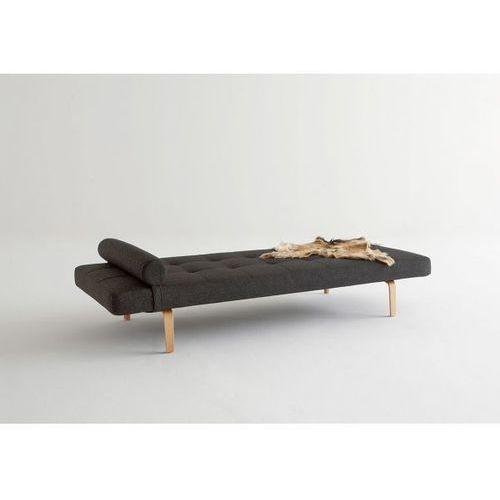 Sofa Napper czarna 564 nogi dąb lakierowany  740030564-740030-5, INNOVATION iStyle