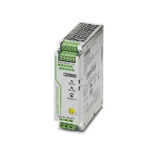 Zasilacz na szynę DIN Phoenix Contact QUINT-PS/ 1AC/24DC/ 5/CO 2320908, 24 V/DC 5 A z kategorii Transformator