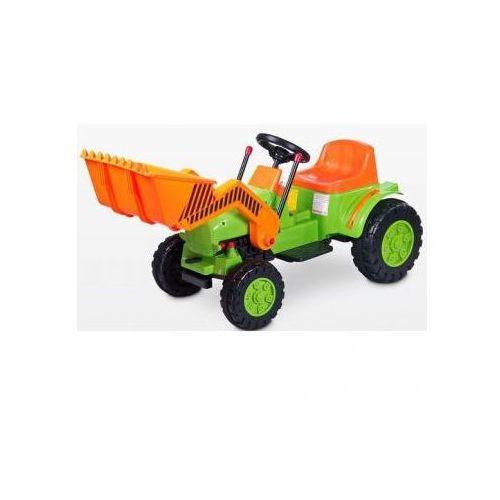 Toyz Pojazd na akumulator Bulldozer zielony ze sklepu Agito.pl