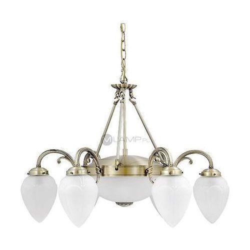 ŻYRANDOL klasyczny LAMPA wisząca OPRAWA do salonu MAYA Rabalux 8536 patyna biały - sprawdź w MLAMP.pl - Rozświetlamy Wnętrza