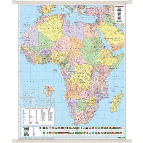 Afryka. Mapa ścienna polityczna 1:8 mln wyd. , produkt marki Freytag&Berndt