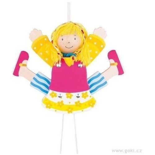 Pajacyk Dziewczynka - zabawki dla dzieci (pacynka, kukiełka)