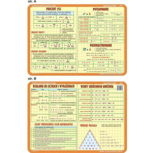 Matematyka - podkładka edukacyjna nr 031 - oferta [456fe60151d2132c]