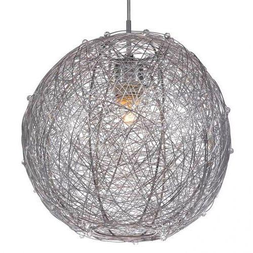Artykuł Nowoczesna LAMPA wisząca OPRAWA metalowa NESS Italux MDM2137/1 IP20 kula srebrny z kategorii lampy wiszące