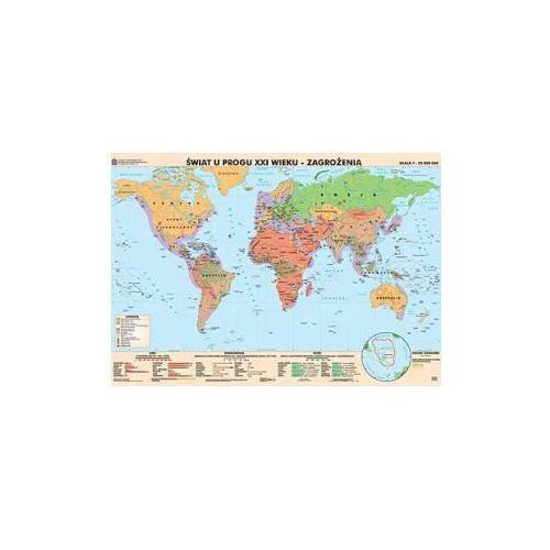 Świat na progu XXI wieku. Osiągnięcia/Zagrożenia. Mapa ścienna., produkt marki Nowa Era