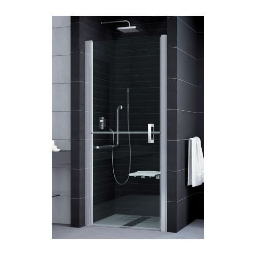 SANSWISS MOBILITY 2 Drzwi dwuczęściowe dzielone w połowie 90 lewe SLM2G09005007 (drzwi prysznicowe)