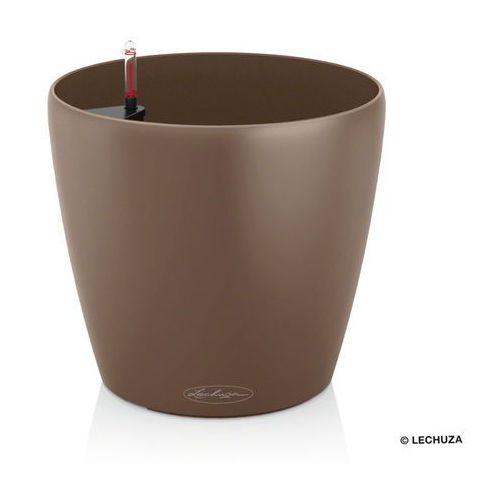 Donica  Classico Color - muszkatołowy - 21 x 20 cm - muszkatołowy, produkt marki Lechuza
