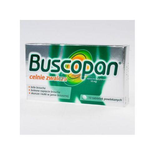 BUSCOPAN 10 TABLETEK POWLEKANYCH 10mg - produkt farmaceutyczny