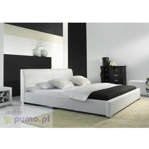 Komfortowe łóżko ALTINO w kolorze białym - 200 x 200cm ze sklepu Meble Pumo