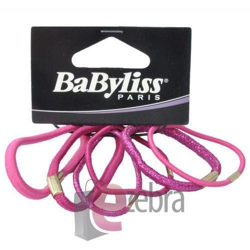 Produkt z kategorii- pozostałe kosmetyki do włosów - BABYLISS ZESTAW GUMEK DO WŁOSÓW RÓŻNE 31589E - 31589E