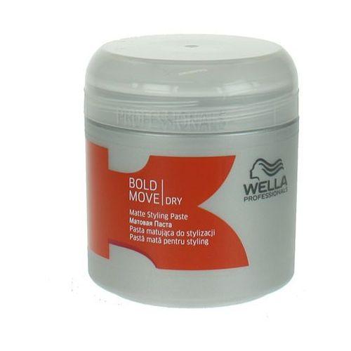 WELLA BOLD MOVE-PASTA MATUJĄCA DO KRÓTKICH FRYZUR 150ml ZAWIERA MLECZKO PSZCZELE - produkt z kategorii- odżywki do włosów