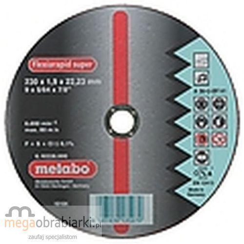 METABO Tarcza tnąca do stali 125 mm (25 szt) Flexiarapid A 60-U płaska RATY 0,5% NA CAŁY ASORTYMENT DZWOŃ 77 415 31 82 ze sklepu Megaobrabiarki - zaufaj specjalistom