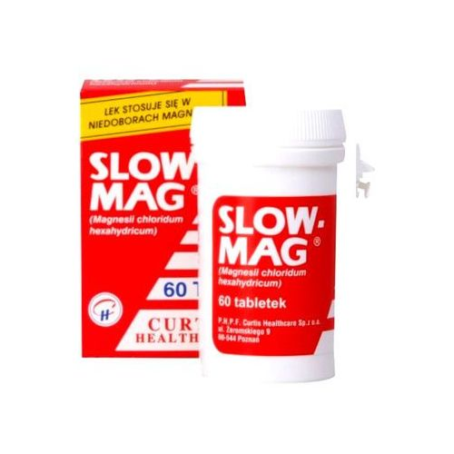 Slow-Mag x 60 tabl., postać leku: tabletki