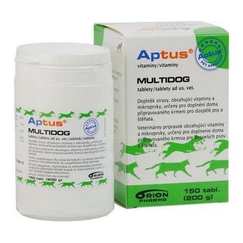 ORION PHARMA Aptus MultiDog preparat witaminowo-mineralny dla psów 150tabl. - sprawdź w Fionka.pl