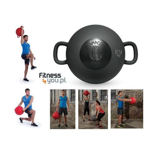 PIŁKA KAMAGON BALL (CZARNA) :: POLECANY SPRZEDAWCA :: TRUSTED SHOPS :: TEL 801000505 :: www.aerobik.fitness, produkt marki Kamagon Fitness