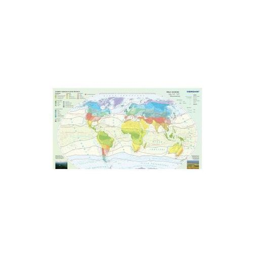 Produkt Świat / Strefy klimatyczne świata. Mapa ścienna. , marki Meridian