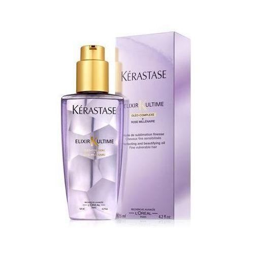 Produkt z kategorii- pozostałe kosmetyki do włosów - Kerastase Elixir Ultime dla włosów cienkich i uwrażliwionych - 125 ml