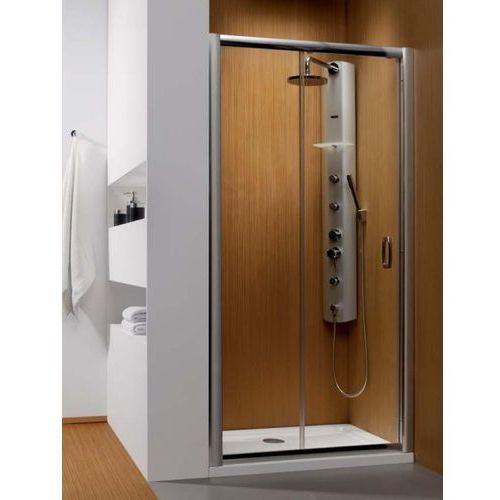 Premium Plus DWJ 1400 Radaway drzwi wnękowe 1372-1415x1900 chrom szkło brązowe - 33323-01-08N (drzwi pryszn
