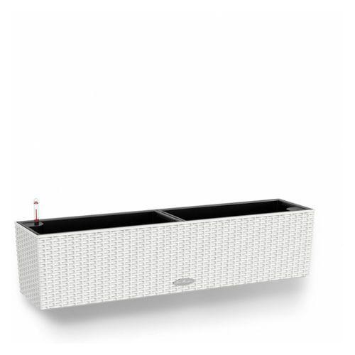 Donica  BALCONERA COTTAGE - biała - 80 x 19 x 19 cm - biały, produkt marki Lechuza