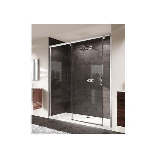 HUPPE AURA ELEGANCE 4-kąt Drzwi suwane ze stałym segmentem i częścią boczną 401801 (drzwi prysznicowe)