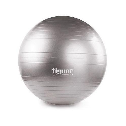 Piłka gimnastyczna 65 cm  - szary, produkt marki Tiguar