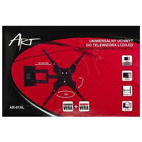 Uchwyt LCD AR-61XL 19-46'' 25kg LCD/LED, towar z kategorii: Uchwyty i ramiona do TV