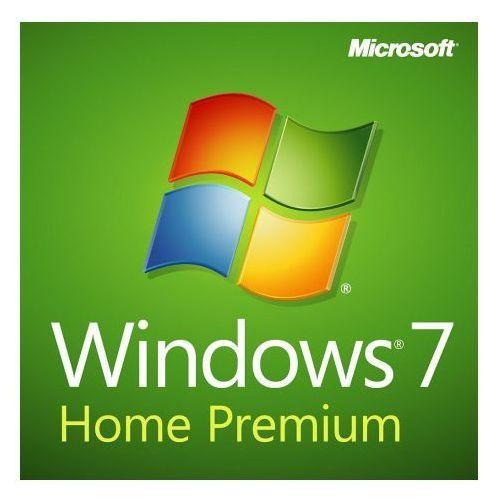 Microsoft Windows Home Premium 7 SP1 Polish DVD OEM - sprawdź w wybranym sklepie
