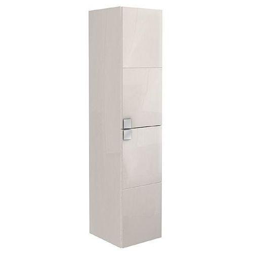 KOŁO szafka wisząca boczna wysoka Primo biały połysk - słupek 88181 - produkt z kategorii- regały łazie