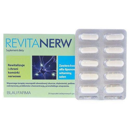 Revitanerw, postać leku: kapsułki