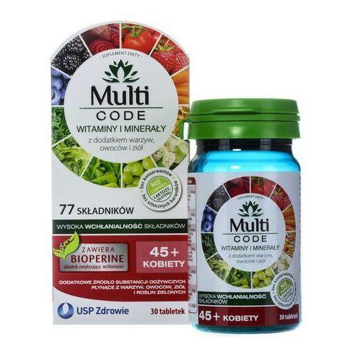 Multi CODE Kobiety 45+ x 30 tabl., postać leku: tabletki
