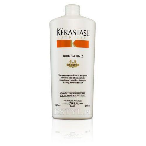 Kerastase Bain Satin 2 - Kąpiel odżywcza do włosów suchych, uwrażliwionych 1000 ml - produkt z kategorii- odżywki do włosów