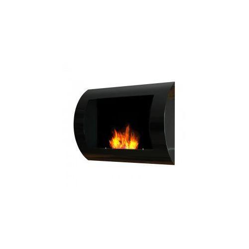 Biokominek dekoracyjny 60x45 cm czarny Convex - EcoFire - oferta [0569427c07e5050b]