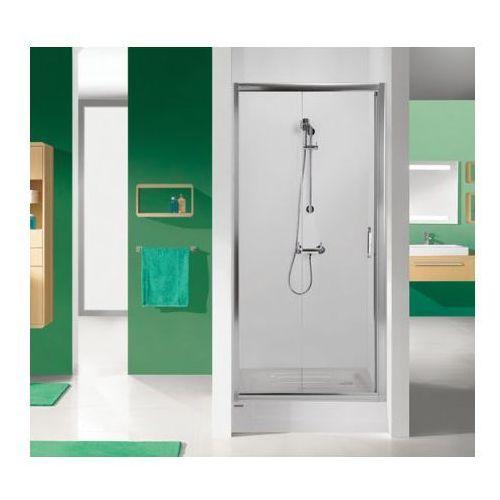 Sanplast TX DR/TX5 Drzwi prysznicowe - 120/190 Grafitowy Przyciemniane 600-270-1120-26-500 - odbiór osobisty: