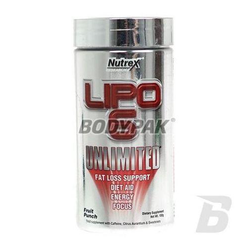 Nutrex lipo-6 unlimited powder int. - 150g wyprodukowany przez Muscletech