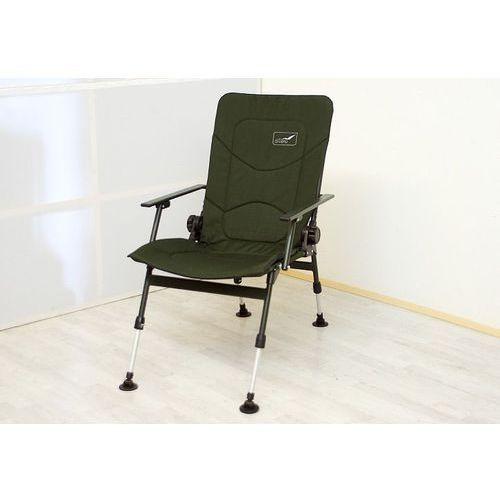 Krzesło wędkarskie, turystyczne z podłokietnikami - sprawdź w Centrum Dystrybucji i Logistyki MILLENNIUM