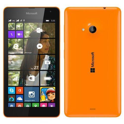 Microsoft Lumia 535 Dual Sim Pomarańczowa - produkt z kategorii- Pozostałe oprogramowanie