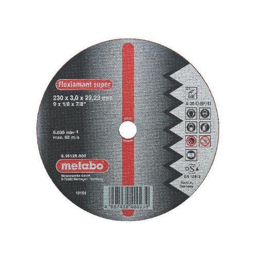 Tarcza tnąca Flexiamant super A 30-O 230x3x22,2mm do aluminium Metabo ze sklepu NEXTERIO