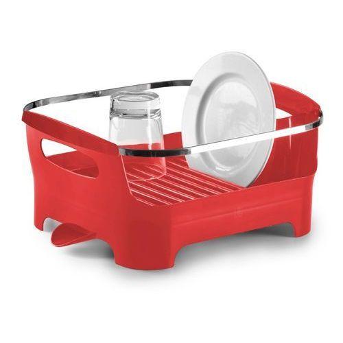 Umbra - ociekacz do naczyń - Basin - czerwony - DARMOWA DOSTAWA !!! - produkt z kategorii- suszarki do naczyń