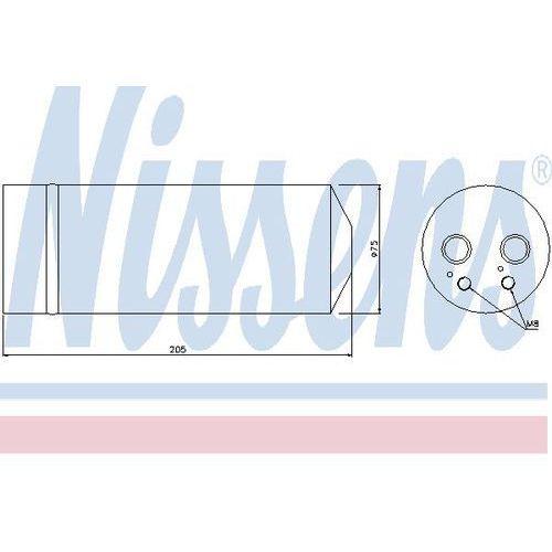 Towar z kategorii: osuszacze powietrza - Osuszacz, klimatyzacja NISSENS 95314
