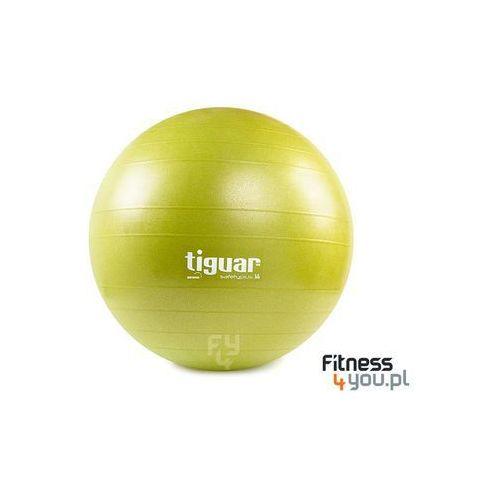 PIŁKA GIMNASTYCZNA SAFETY PLUS 55 CM TIGUAR (OLIWKA) :: TRUSTED SHOPS :: POLECANY SPRZEDAWCA :: TEL. 801000505 :: www.aerobik.fitness, produkt marki Tiguar