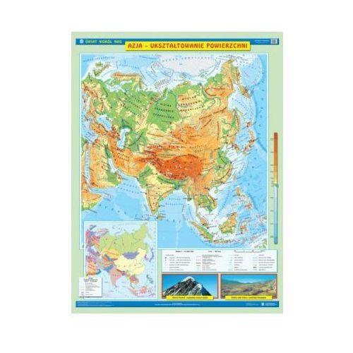 Produkt Azja. Mapa ścienna Azji. Ukształtowanie powierzchni / Krajobrazy, marki Nowa Era