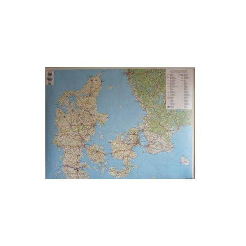 Dania mapa ścienna 1:400 000  & Berndt, produkt marki Freytag