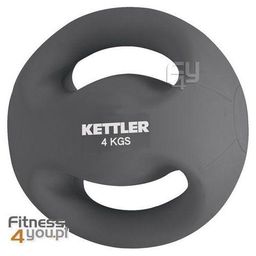 Produkt Piłka do ćwiczeń 4 kg z uchwytami  07370-053, marki Kettler