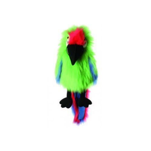 Papuga ara bojowa - pacynka wydająca dźwięki (pacynka, kukiełka)