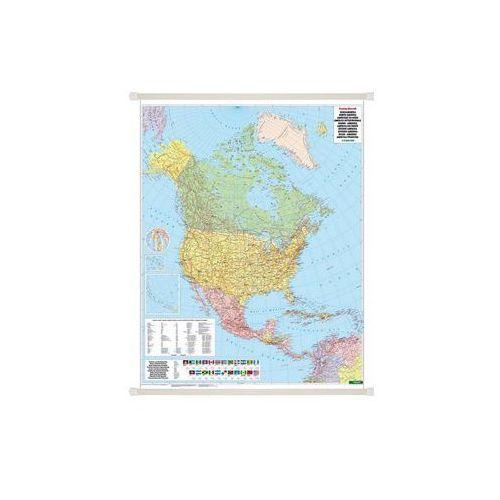 Ameryka Północna mapa ścienna polityczna 1:8 000 000  & Berndt, produkt marki Freytag